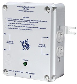 All Day Hydro Cap Mlc 4x Master Light Controller 30 Amp